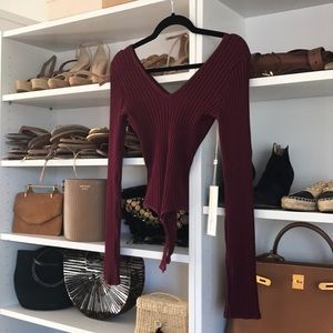 Knit bodysuit